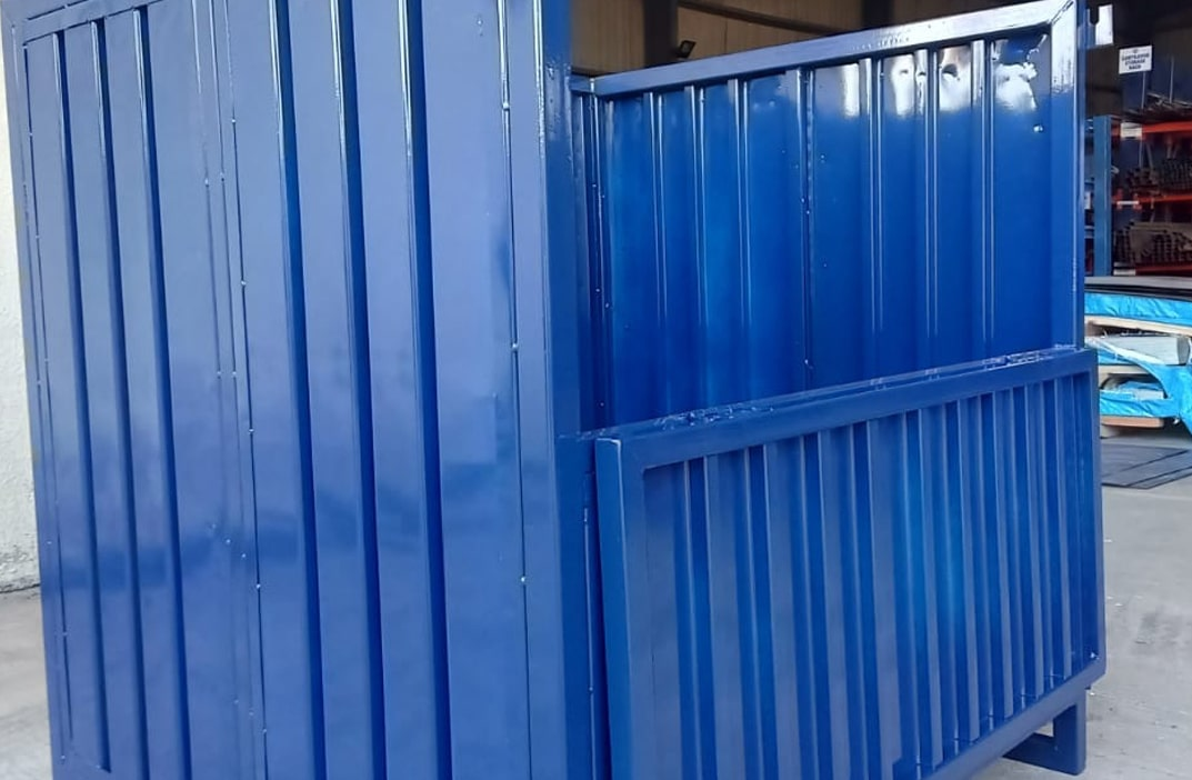 Metal Cage Pallet Corrugated