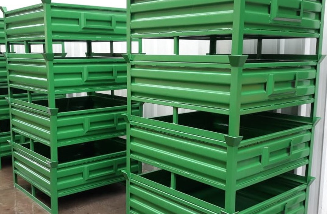 Metal Cage Pallet Foldable
